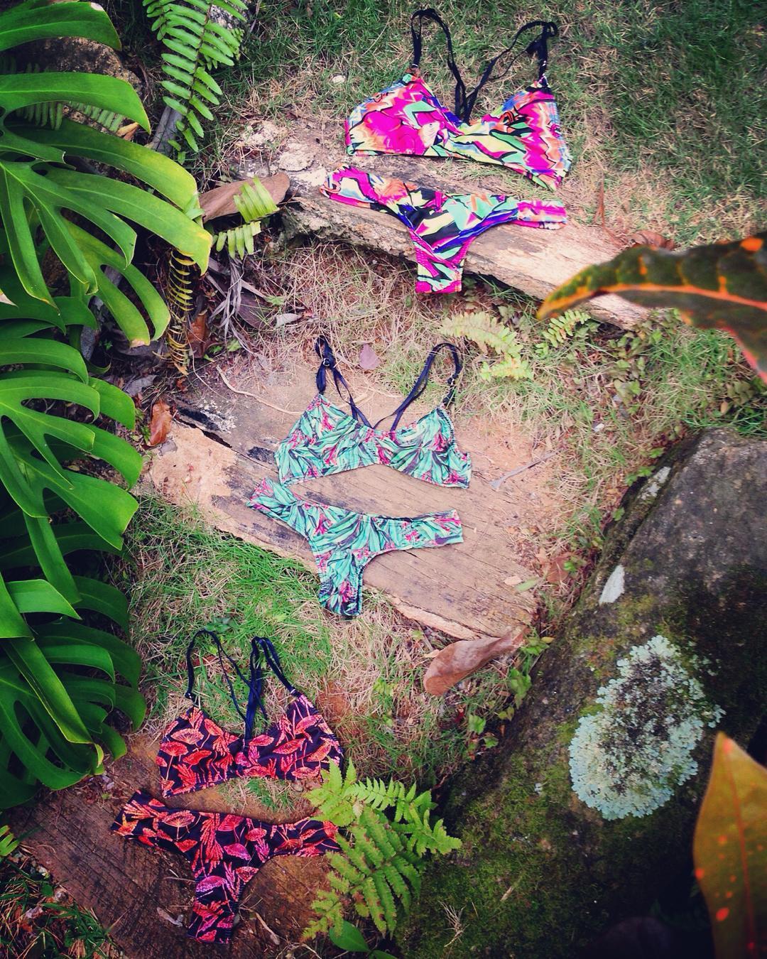 Kanaha in all prints! #katwai #bikini