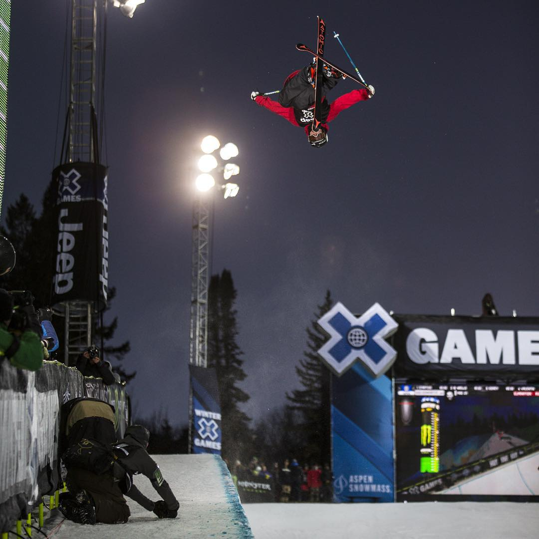 """I want to be the guy who comes out, wins and is like: 'I'm taking names.'""-#XGames bronze medalist @GusKenworthy  Click the link on our profile page to read his story."