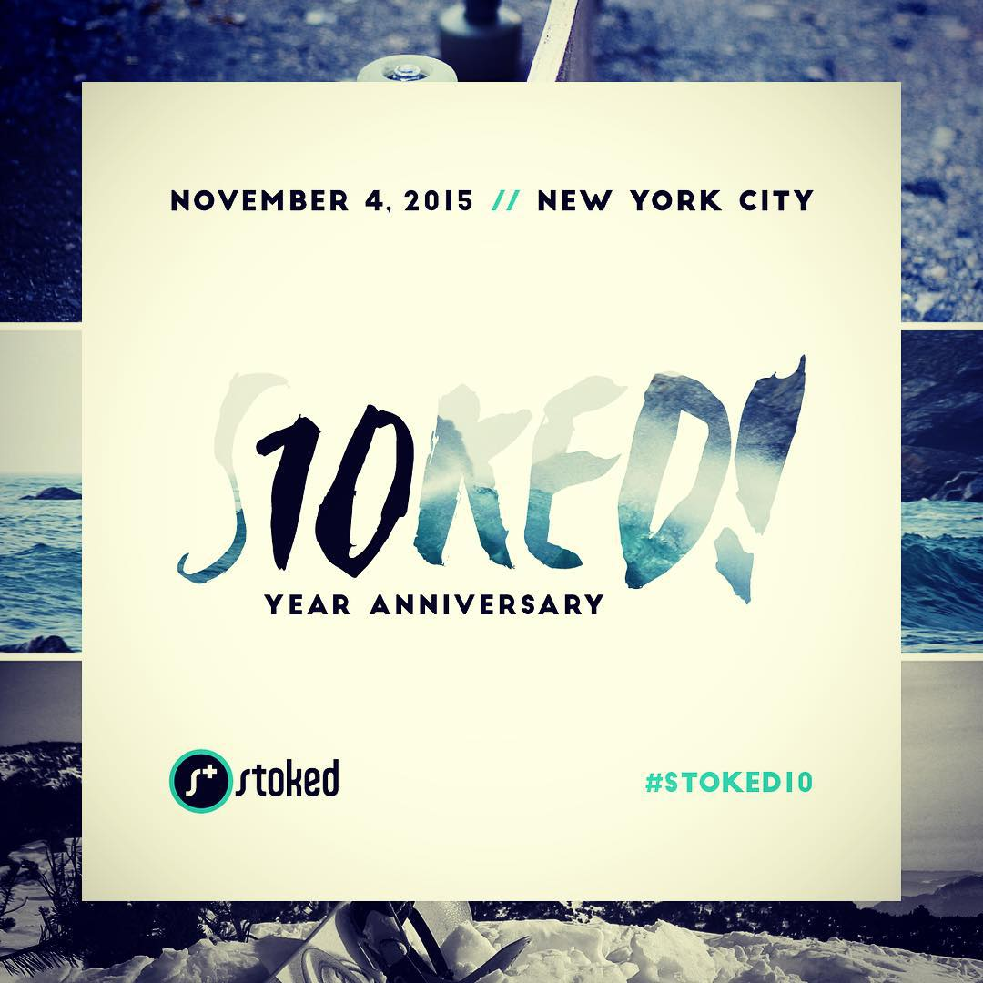 We're celebrating 10 years of being STOKED! Join the party... Click on the link in our bio for all the details.