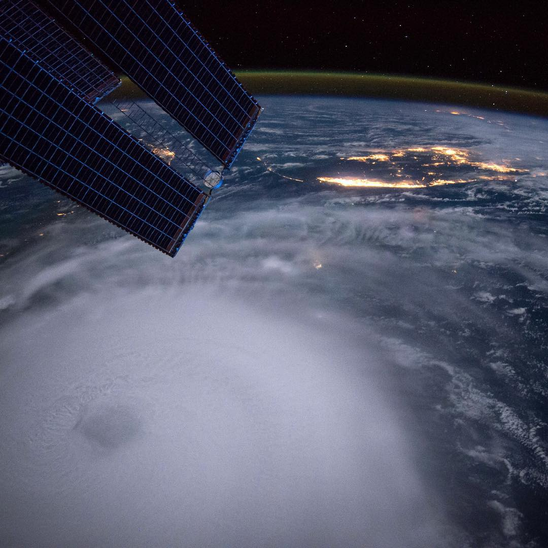 Recent throwback image of Hurricane Joaquin from above. Early forms of #geoprene were on every Apollo Space Mission and all Spring Suits, Long Arm Spring Suits and Short Arm Fullsuits aka the Ichiban are now offered at 40% savings via Matuse.com,...