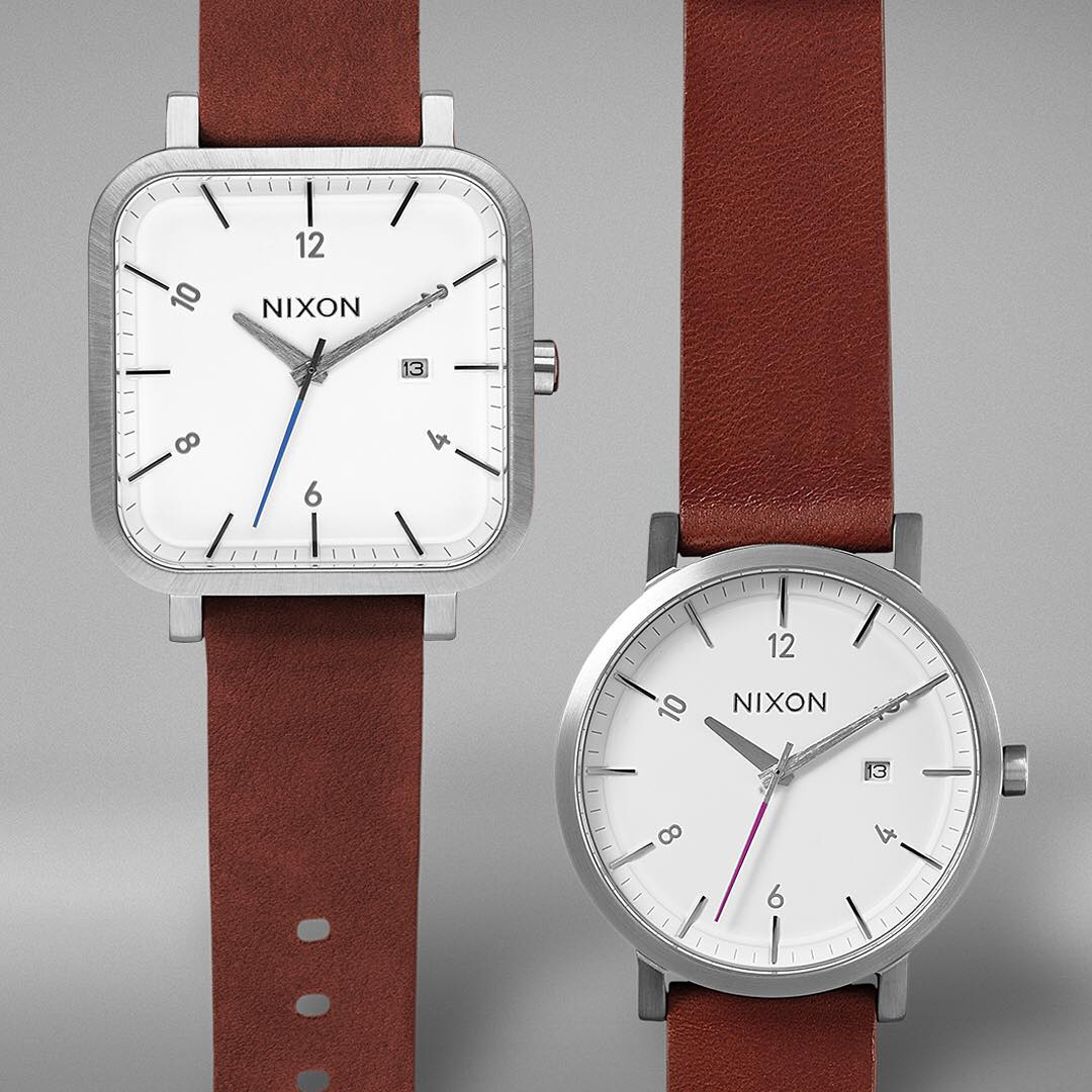 Introducing the #Rollo and #Ragnar, low profile and high design, enhanced with full-grain @horweenleather bands.  Visit Nixon.com for a look a complete look at the  new. #NixonNow