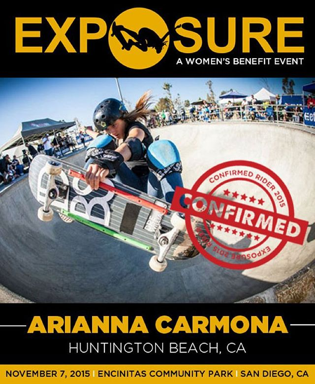 Arianna Carmona (@flying_arianna) confirmed for EXPOSURE 2015!