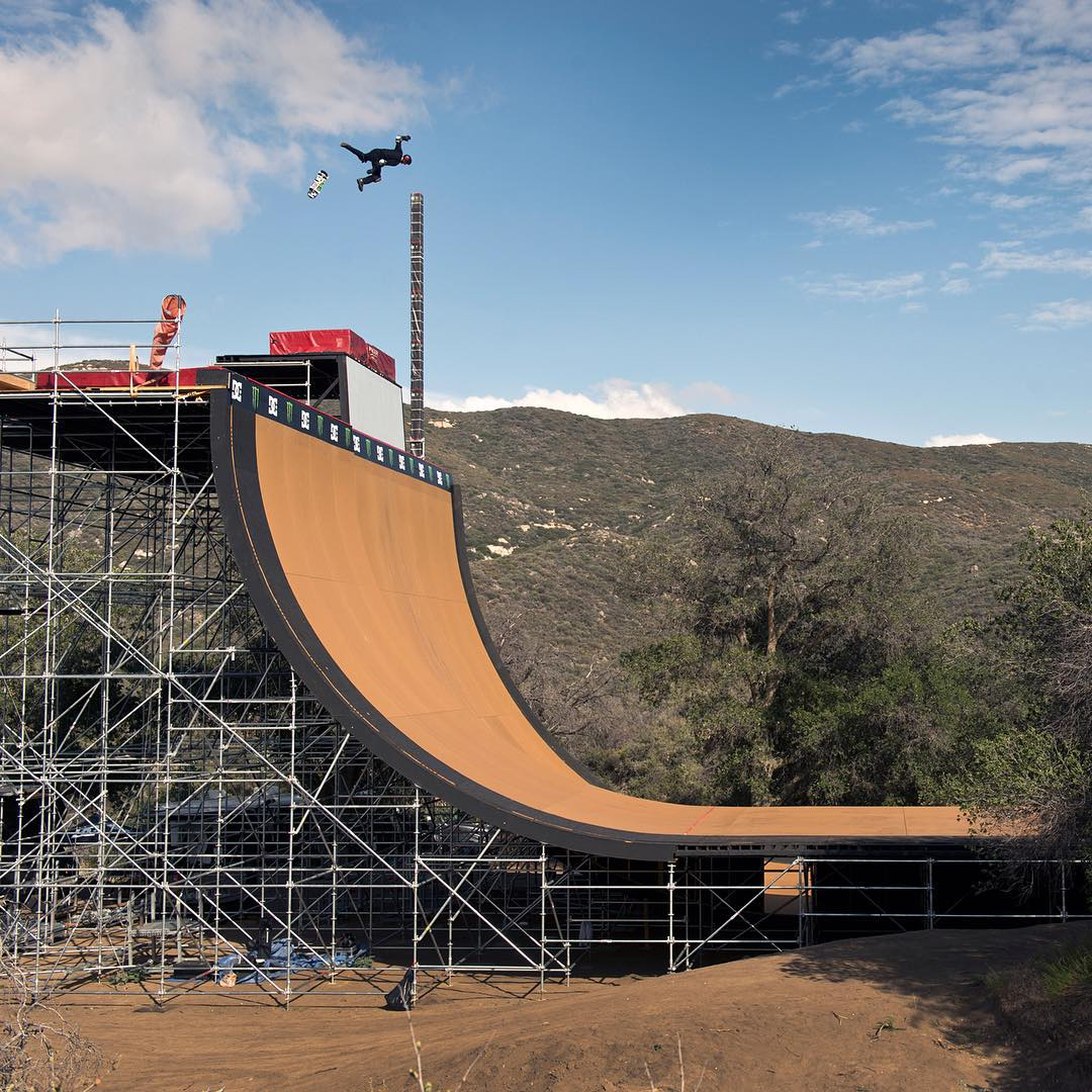 See what it took for @DannyWay to set the new world record for a high air when a new episode of The World of @XGames airs this Sunday on ABC at 3PM ET/ 1PM PT. Photo: @blabacphoto. @monsterenergy @guinnessworldrecords #dcshoes #xgames #dannyrecordair