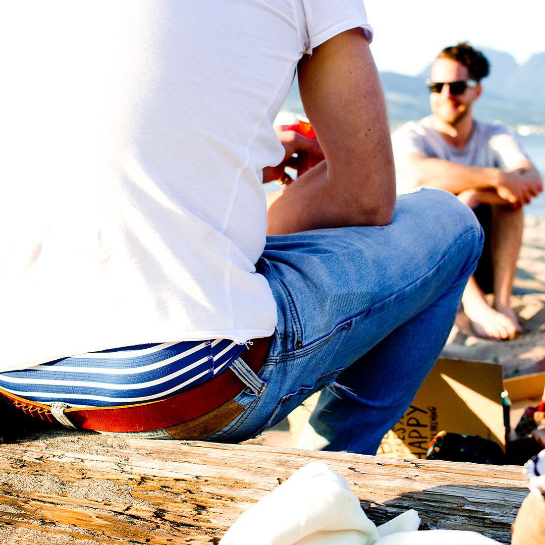 Sittin' on the dock of the bay, wastin' timeee... In the Sean Pettit Action Series nautical print #MyPakage