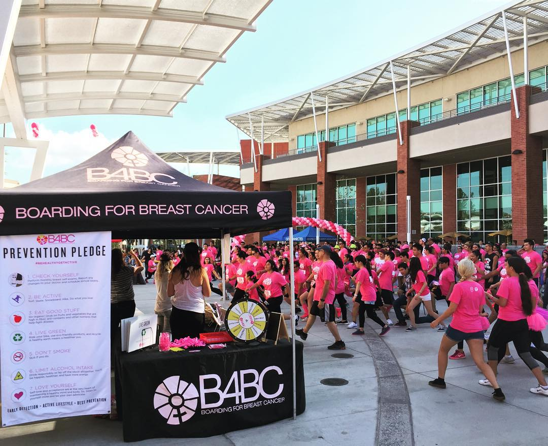 Today we were at @CalStateLA for their awesome Think Pink 3K run with over 500 students, benefiting B4BC! Check out the behind the scenes action on Snapchat at 'b4bcsnap', and see when we'll be at your campus next on our events calendar at...