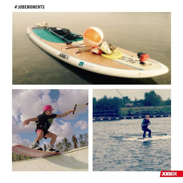 It's time to show you this week's #jobemoments! @eviemasonpaige is preparing the future, with a 5 year old, who is already wakeboarding! and @ _yoyoamanda and @sup_hermanlieven got some really nice shots out on the water, doing what they love!  Tag us...