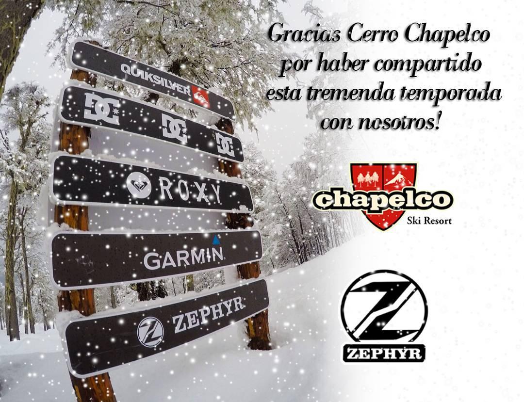 Tremenda temporada! Gracias @cerro_chapelco !!