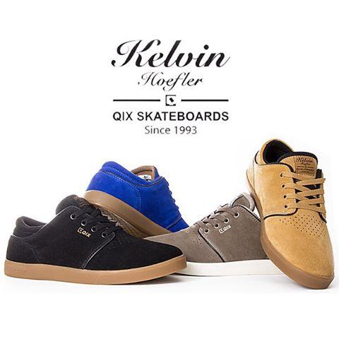 Pro Model #QIX @kelvinhoefler - Estilo, Conforto e Durabilidade! #qixteam #qixpromodel #skateboardminhavida