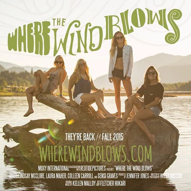 Fresh on the blog: more on Season 2 of Where The Wind Blows, a web series featuring our own @sensigraves, team rider @colleenjcarroll, and friends @mcclurelindsay and @lamaher419