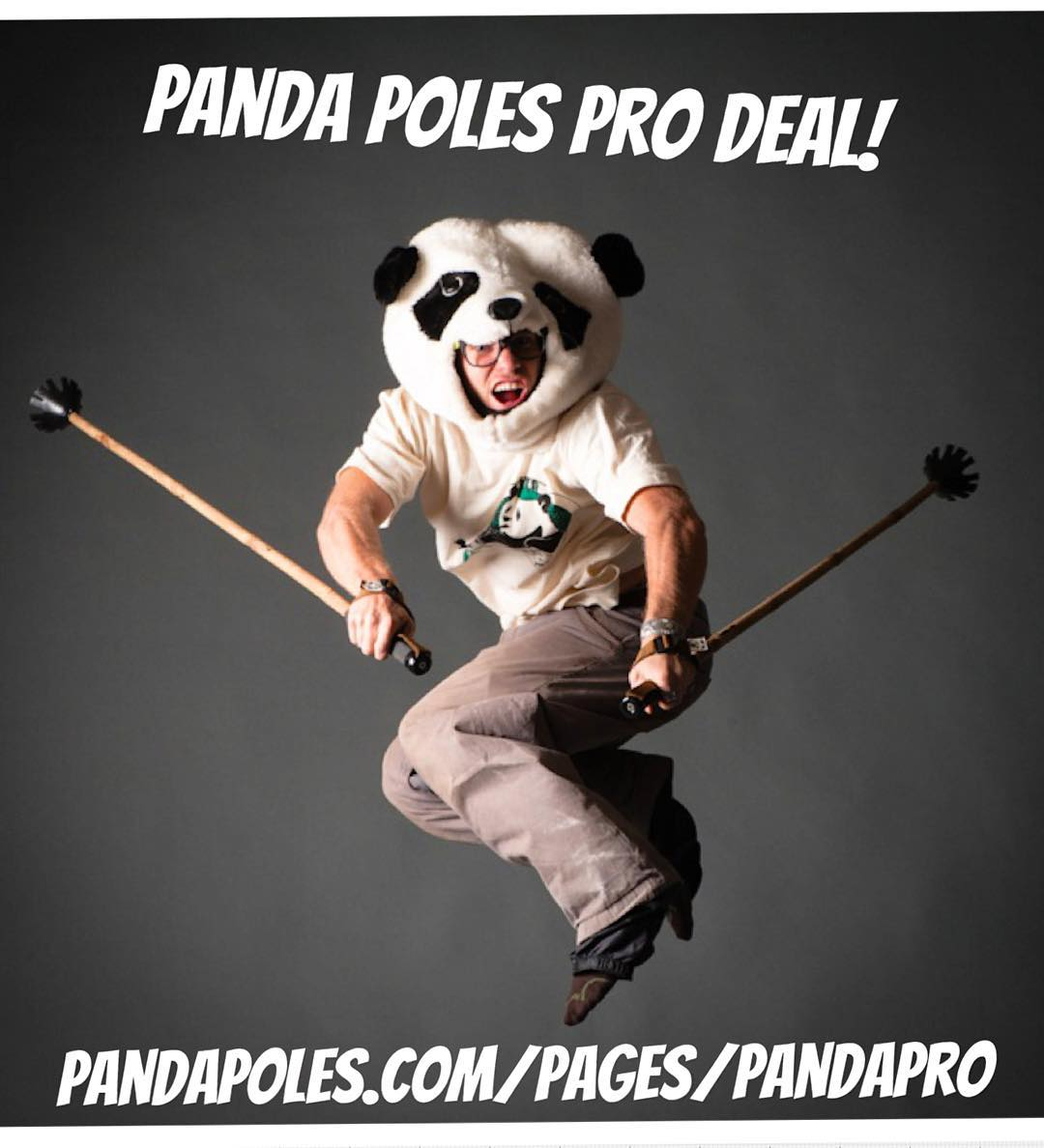 "Are you an ""Industry Pro""? In other words, do you compete, work in a ski shop, on ski patrol, Mt. School, or can prove that you ski over hundred days a year? If so, you qualify for 40% OFF Panda Poles gear!  Applications accepted..."