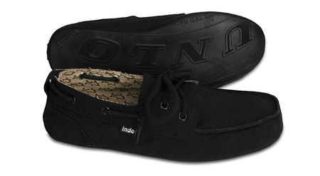 Shoes - indosole Prahu - Black