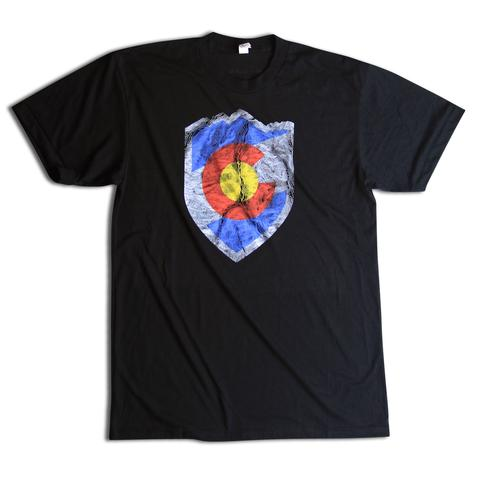 Tees - Kind Design ASPEN TOPO SHIELD T-SHIRT