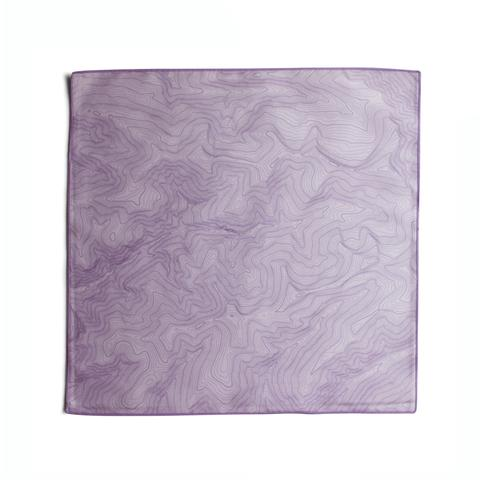 Tees - Kind Design TOPO POCKET SQUARE / LAVENDER