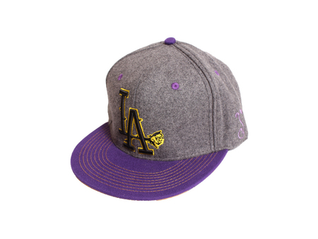 Ball Caps & Snapbacks - So-Gnar LA Jaded Rose Grassroots X Fitted Hat