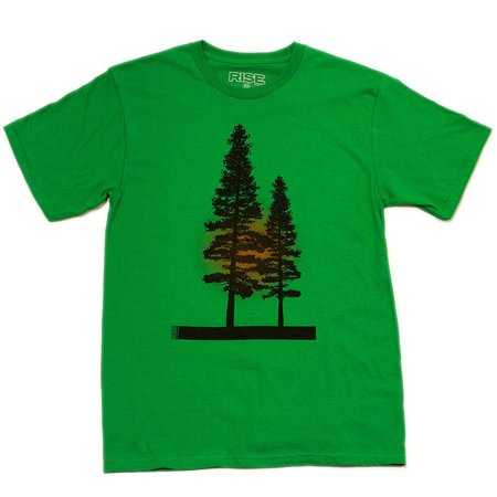 Tees - Rise Designs Yosemite Tree - T-Shirt - Mens