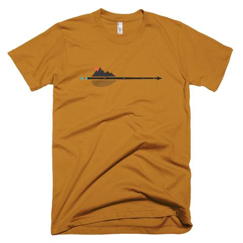 Tees - Soul Poles alpine arrowhead tee - men's short sleeve