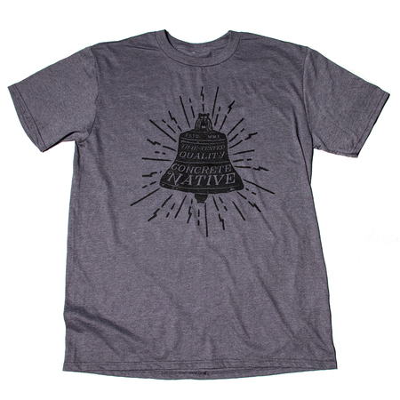 Tees - Concrete Native Ring the Bell Tee • Sustainable