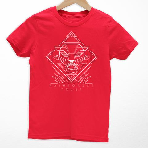 Tees - Cuipo Rainforest Trust Panther Kids