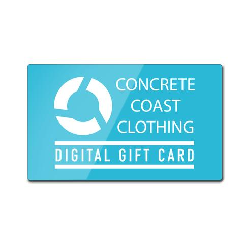 Clothing - Concrete Coast Gift Card