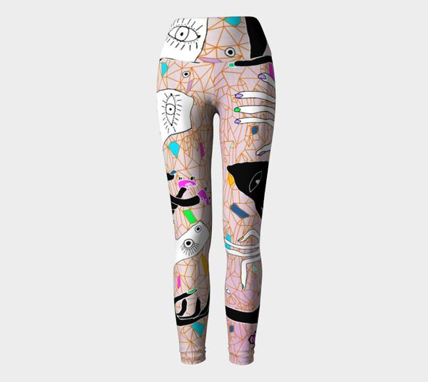 All Mountain - Coalition Snow Golden Stiletto Leggings