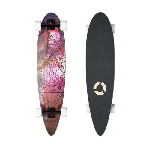 Concrete Coast Limited Art Series Longboard: Sacred Geometry