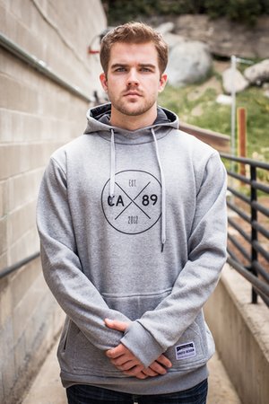 Hoodies - California 89 MEN'S EHOTO TALL HOODIE