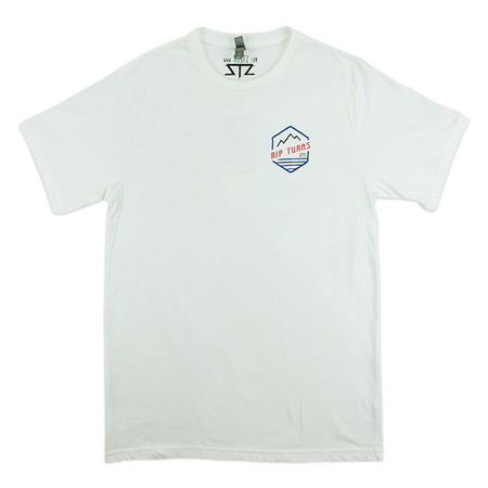 Tees - STZ Rip Turns | White
