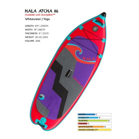 Boards - Hala Gear Hala Atcha Black Rail - Regular