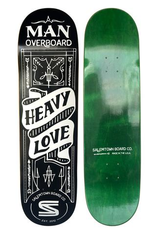 Salemtown Board Co LIMITED EDITION Man Overboard Collaboration Deck