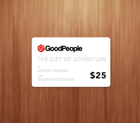More - GoodPeople $25 GoodPeople Gift Card