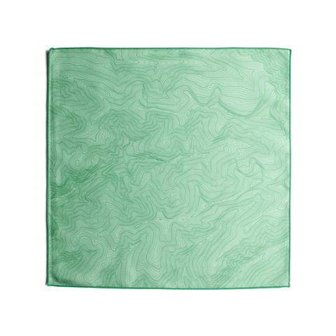 Tees - Kind Design TOPO POCKET SQUARE / MINT