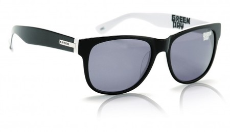 Sunglasses - Hoven Vision BIG RISKY Green Day / Grey