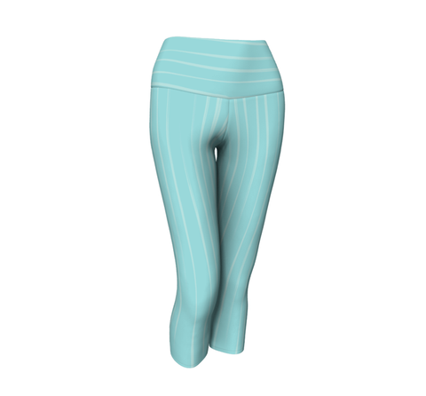 All Mountain - Coalition Snow Aqua Stripe Capri