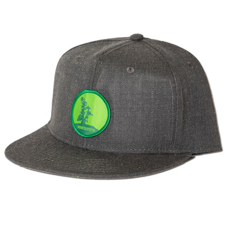 Rise Designs Mother Tree Snapback Hat - Heather Black