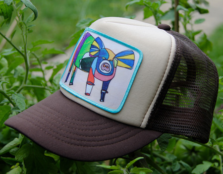 Ball Caps & Snapbacks - Katherine Homes Women's Pig Two Tone Brown