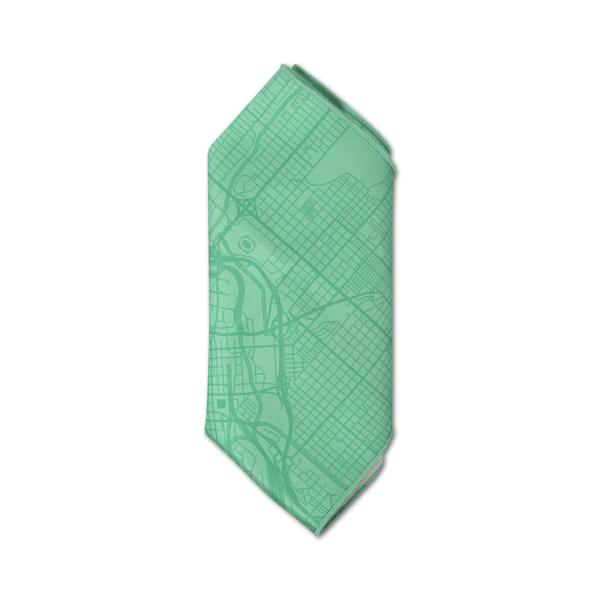 More - Kind Design Denver Roadmap Pocket Square