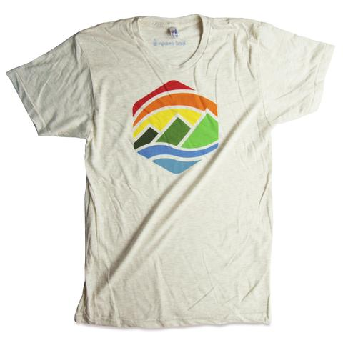 Tees - Kind Design Retro Mountains T-Shirt