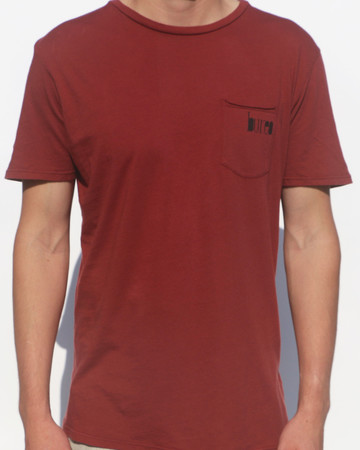 Tees - Bureo Skateboards Bureo Pocket Logo T-Shirt