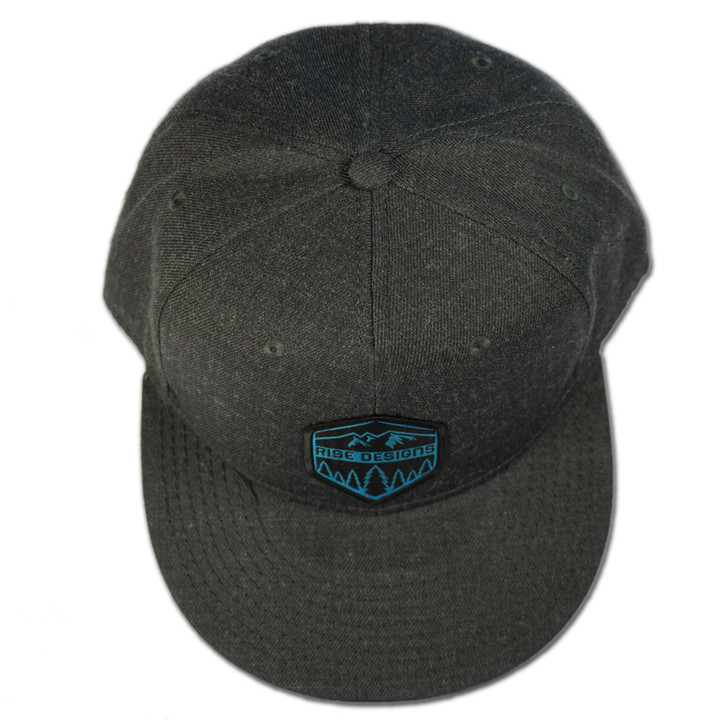 Ball Caps & Snapbacks - Rise Designs Rise Hexagon Snapback Hat
