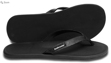 More - indosole The Innertubed Black