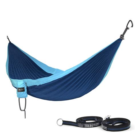 Tees - Cuipo Little River Co. Single Hammock with Straps