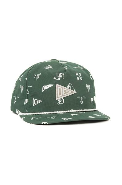 Ball Caps & Snapbacks - Desolation Supply Co Flag Camper Cap