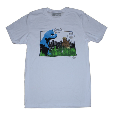 Tees - So-Gnar 420 Denver Limited Blue & Smokey