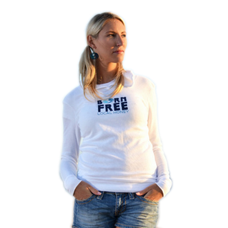 Hoodies - Local Honey Designs Born Free Hoodie