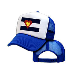 Ball Caps & Snapbacks - Big Colorado Love Big Colorado Love Trucker