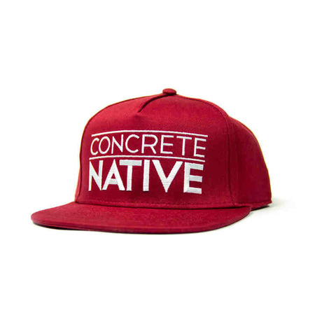 Ball Caps & Snapbacks - Concrete Native Swoon Units Snapback Hat