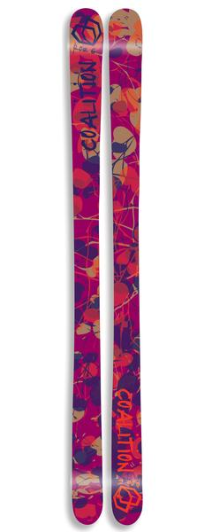 Skis - Coalition Snow Roz G. Pro Model Halfpipe Ski | Flannel Sunspot