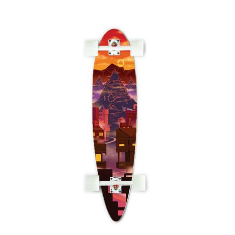 Clothing - Concrete Coast Limited Art Series Board: Lambent Skies