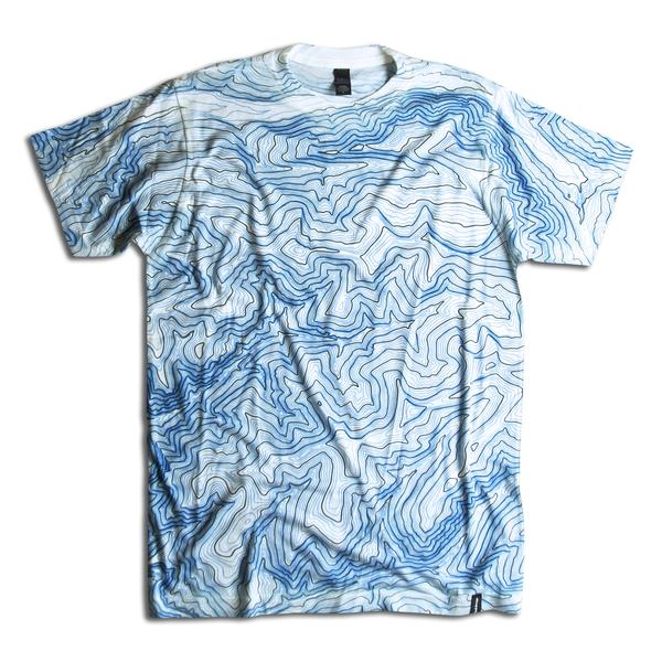Tees - Kind Design ALL OVER TOPO T-SHIRT