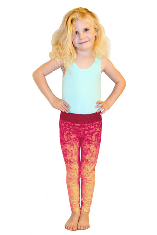 Leggings - Okiino Sunset Scales - Minnow Leggings